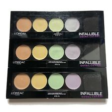 Lot Of 3 L'Oreal Infallible Total Cover 225 Color Correcting Kit