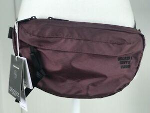 HERSCHEL Nineteen Belt Bag Fanny Pack Men's Cordura Plum Black NWT