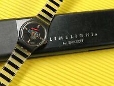 Swatch X-MAS Special von 1986 - LADY LIMELIGHT - LB110C in NEU & OVP Black Case