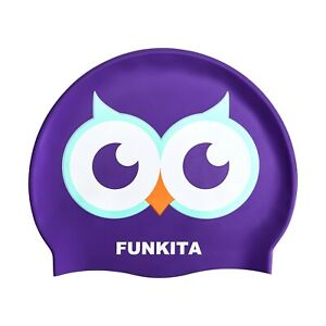 """FUNKY TRUNKS 'Twit Twoo"""" Swimming Caps"""