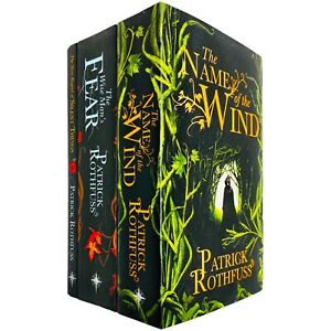 Kingkiller Chronicle Patrick Rothfuss Collection 3 Books Set - Paperback - NEW