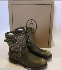 Ash Women's 100% Leather Biker Boots