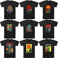 New Mars Attacks T-Shirts Movie Shirt Men's Graphic Print T Shirts Black