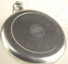 Vintage Alumo Hot Water Bottle Bed Warmer Metal Goods MFG Handle Screw Cap