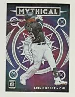 2020 Donruss Optic MYTHICAL #M-1 LUIS ROBERT RC Rookie Chicago White Sox