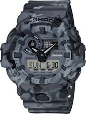 BRAND NEW CASIO G-SHOCK GA700CM-8A GREY CAMO ANA-DIGI MENS SPORTS WATCH NWT!!!!