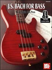 J S Bach for Bass Guitar TAB Music Book/Audio Johann Sebastian SAME DAY DISPATCH