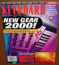 Kurzweil KDFX, Korg D16, Lexicon MPX 500, YAMAHA CS6x KEYBOARD 2000 Reports