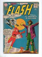 Flash #118 3RD APP KID FLASH (Back-Up Story) RARE Early Flash Book! VG- 3.5 1961