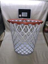 SPALDING WPBABASKETBALL HOOP Goal Net Waste Paper Basket Trash Can