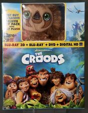 The Croods 3D Best Buy Exclusive Blu Ray Set with Belt Plush - Better than UK!