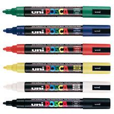 Uni Posca PC-5M Peinture Marqueur Stylo - 6 Stylo Ensemble de meilleure vente Couleurs