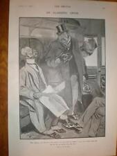 H M Brock cartoon An Alarming Offer 1906 print