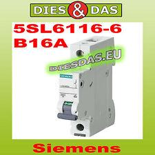 Siemens Sicherungsautomat B 16 A 5SL6116-6