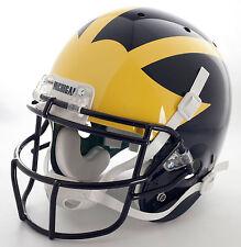 Tom Brady Edition Michigan Wolverines 1996-99 Full Size Replica Football Helmet