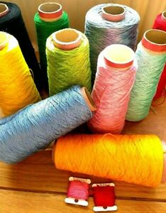 5 x 8m GENUINE DMC Skein Lengths from Cones pick your own shades on 8m Bobbins