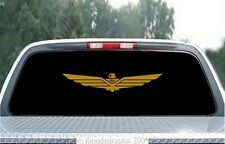 "Large ""Wing"" Decal-Sticker For Honda Goldwing Riders, 24"" Long GWW-24"