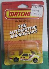 Matchbox 1986 MB 52 BMW-M1 1/64 Automotive Superstars Card New