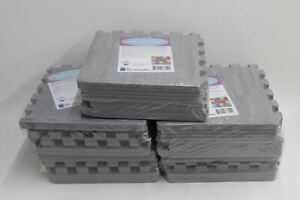 MEDDLER Eva Foam Mats Kids Baby Soft Play Floor Puzzle 30cm Squares NEW x5