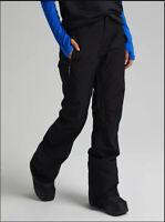 NWT! Women's Burton GORE‑TEX Duffey Snowboard Pants, Black, Size Small (4-6)