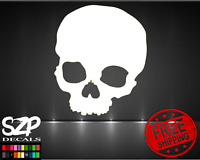 Skull DECAL, Sticker Color and Size Cool Window Bumper