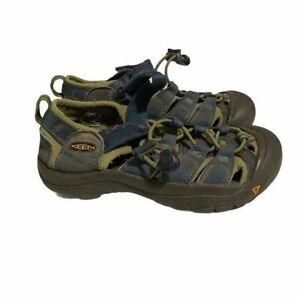 Keen Newport Waterproof Hiking Sandals Blue Green Boy's Size 1