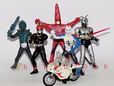Bandai Masked Rider BLACK & SHADOW MOON figure gashapon (full set of 6 figures)