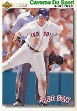 404 JODY REED BOSTON RED SOX BASEBALL CARD UPPER DECK 1992