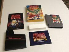 Dragon Warrior NES (Nintendo NES) CIB, Bear Complete with Manual Box and Cart!!