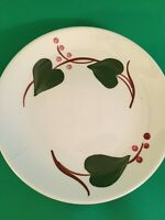 Blue Ridge Pottery Bread Plates Set of 6 Stanhome Ivy