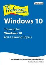 Professor Teaches Windows 10 ,interactive training tutorials & course