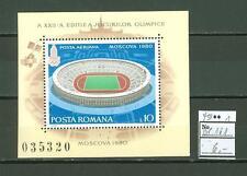 MTA1160 Romania 1979 MNH s/s Olympic Sport Stadium CV 6 eur