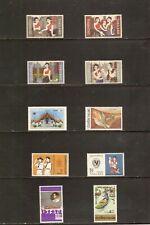 THAILAND 1971      -     10 verschiedene Werte incl. kpl. Satz postfrisch  **