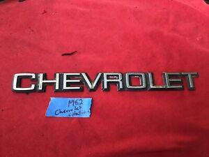 Chevy Citation Fuel Injection Emblem Chevrolet