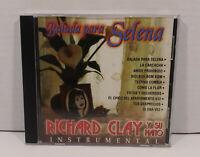 Balada Para Selena Richard Clay y Su Piano Instrumentals Cd Amor Prohibido LNC