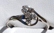 18ct White Gold & 5 diamond Ring from Mazzuchellis