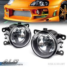 Right + Left Side Fog Light Lamp + H11 Bulb For Acura Honda Ford Nissan Suzuki
