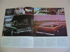 1969 Ford Station Wagon Brochure -Near Mint to Mint