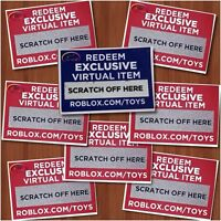 Roblox Virtual Bonus CHASER CODE Item Series 4 2019 Toys