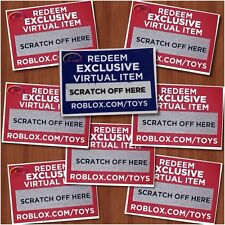 Roblox CODES ONLY Celebrity Series 2 3 4 5 6 7 8 Exclusive Online Item-USPS SHIP