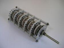 Centralab Rotary Switch JV-9019 15-Pole 2-5 Pos Non-Shorting NOS