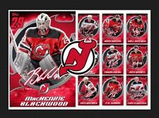 NEW JERSEY DEVILS TEAM PACK-10 CARD SIGNATURE MELD SET-NJD-TOPPS SKATE 20 DIGITL
