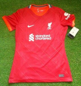Liverpool LFC Official SS Home Shirt 2021/22 #30 Vanessa (Ladies L)