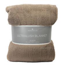 NEW Berkshire Life Ultralush Velvety Soft Plush Warmest Blanket Queen/King