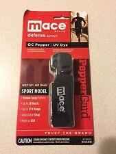mace OC Pepper Spray, UV Dye, Sport Model, Jogger  80329
