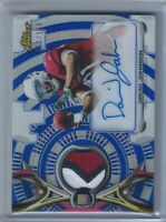 David Johnson RPA Rookie Patch Auto RC 2015 Topps Finest Blue Refractor 53/150
