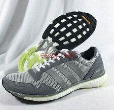 best service 390bb dc17f New Adidas Adizero Adios WMNS Sz 8 Pure boost BB6410 Running Training NDM  Grey