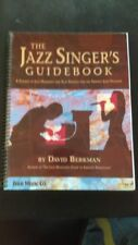 """Vends partition """"The Jazz Singer's guidebook"""""""