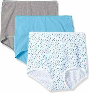 Bali NWT Cool Cotton Skimp Skamp Brief 3 Pack A332 M/6 L/7 XXL/9 $26