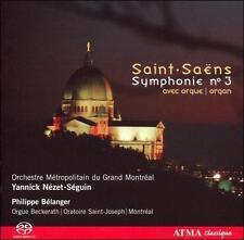 SACD - Saint-Saens: Symphony No. 3 Organ - Belanger - ATMA Classique CD